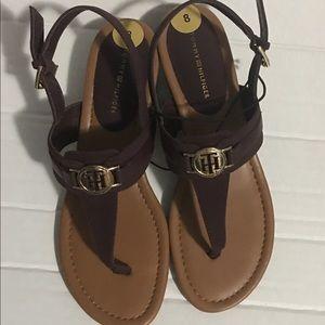 Tommy Hilfiger Women's Sandals Brown Size 8M NWOT